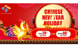 Notice for Chinese New Year Holiday